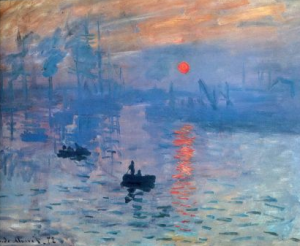 Impression, Sunrise Claude Monet