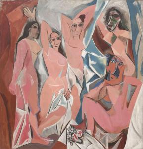 Les Demoiselles d'Avignon Pablo Picasso