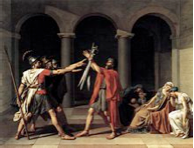 The Oath of the Horatii Jacques-Louis David